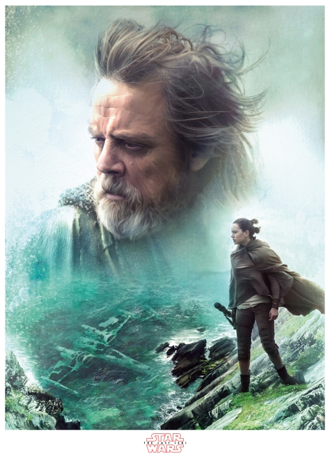 Star Wars The Last Jedi New Promo Posters Ultra Hi Resolution Luke and Rey