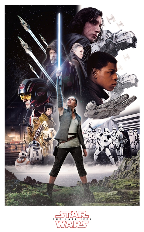 Star Wars The Last Jedi New Promo Posters Ultra Hi Resolution