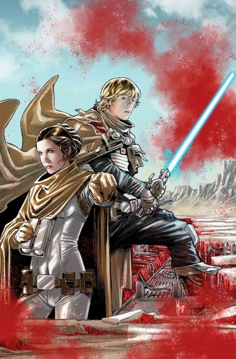 Star Wars The Last Jedi - Storms of Crait Cover Art