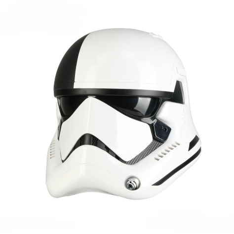 Star Wars The Last Jedi Stormtrooper Executioner Helmet from Anovos - 5