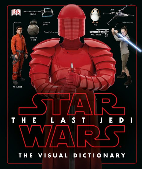 Star Wars The Last Jedi The Visual Dictionary Front Cover DK