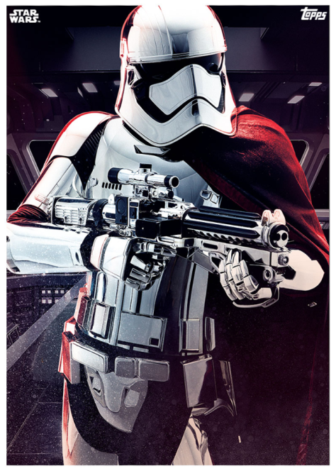 Star Wars The Last Jedi Topps Cards Captain Phasma