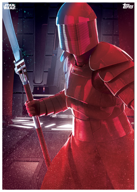 Star Wars The Last Jedi Topps Cards Elite Praetorian Guard