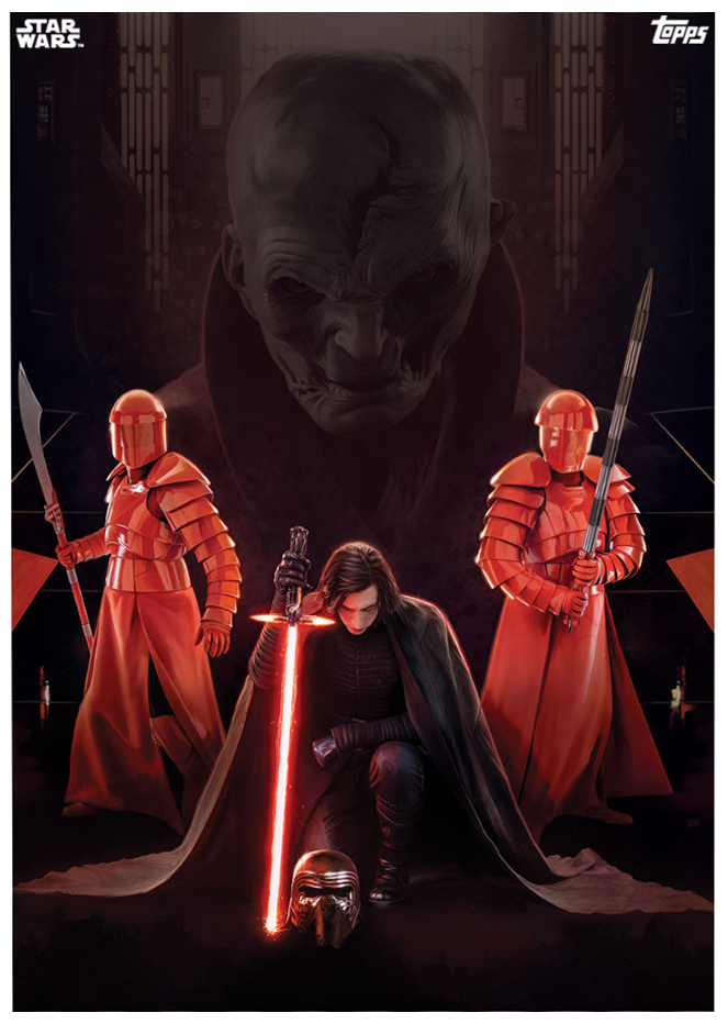 Wars The Last Jedi NEW TOPPS Cards