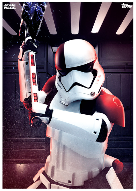 Star Wars The Last Jedi Topps Cards Stormtrooper Executioner