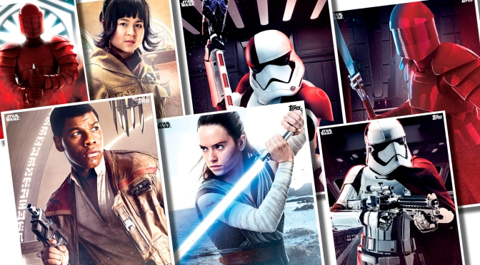 Star Wars The Last Jedi Topps Cards