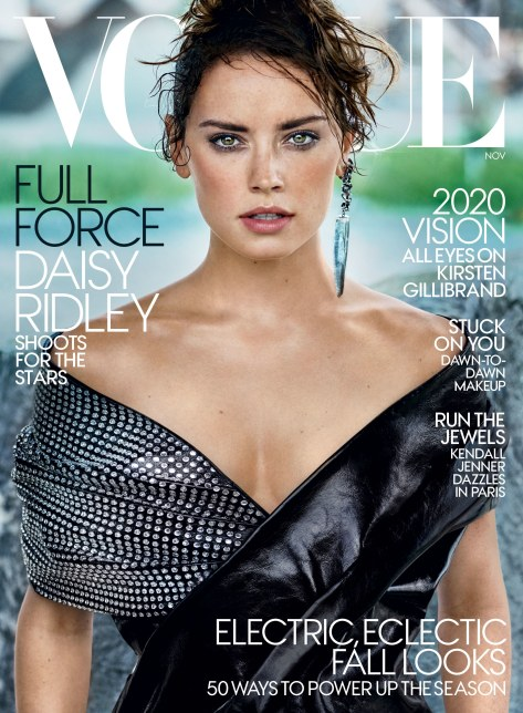 Daisy Ridley Star Wars Vogue Cover November 2017 HD Hi-Res