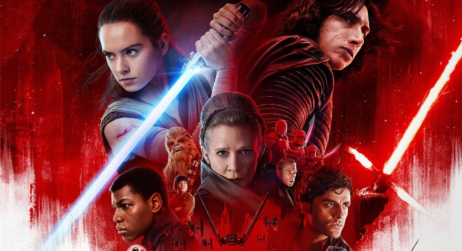 The Last Jedi Official Theatrical Poster Revealed