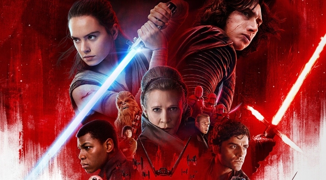 Star Wars The Last Jedi Official Theatrical Poster Header