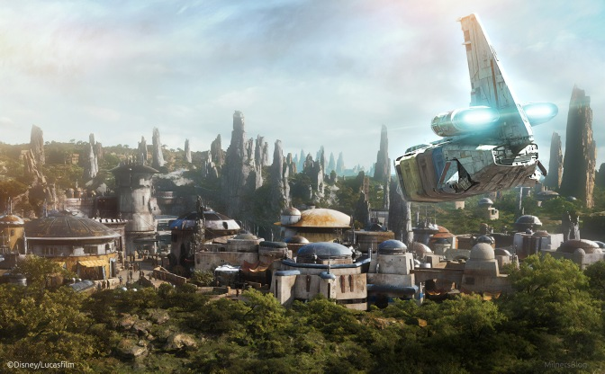 Star Wars Galaxy's Edge The Planet Batuu