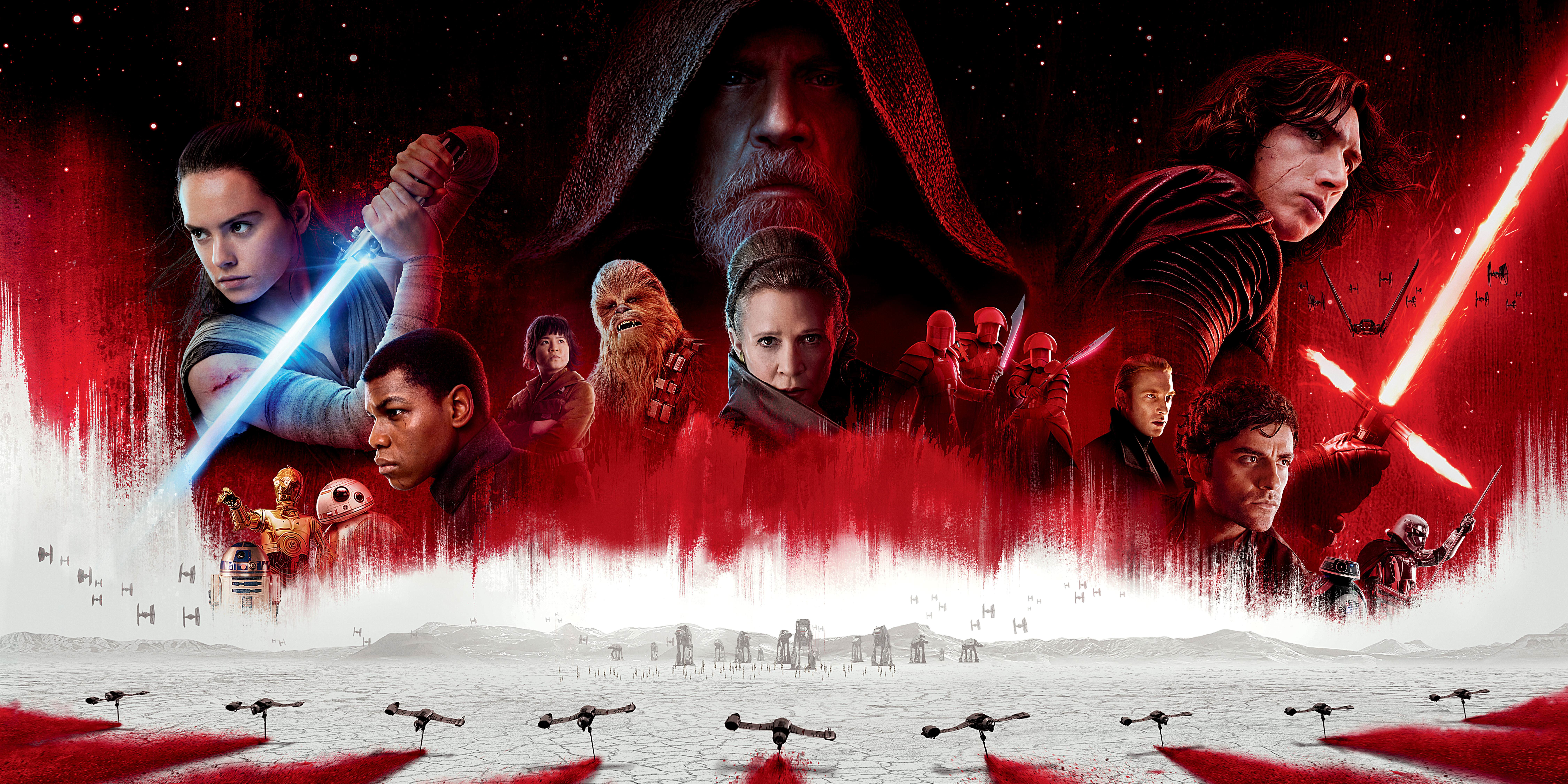 star wars the last jedi imax the light side and the dark side lobby poster milners blog. Black Bedroom Furniture Sets. Home Design Ideas