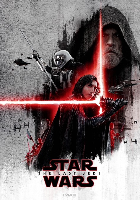 The Last Jedi IMAX Dark Side Lobby Poster