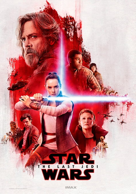 the last jedi imax light side lobby poster