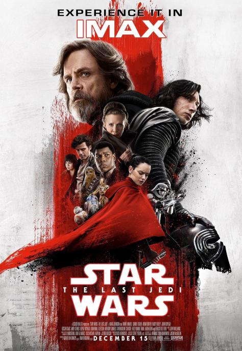 The New The Last Jedi IMAX Poster