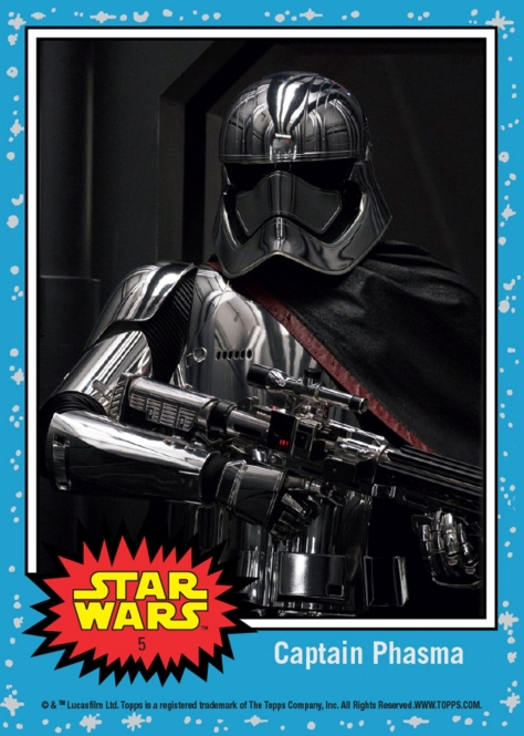 Topps The Last Jedi Trading Cards Day 5 - Captain Phasma