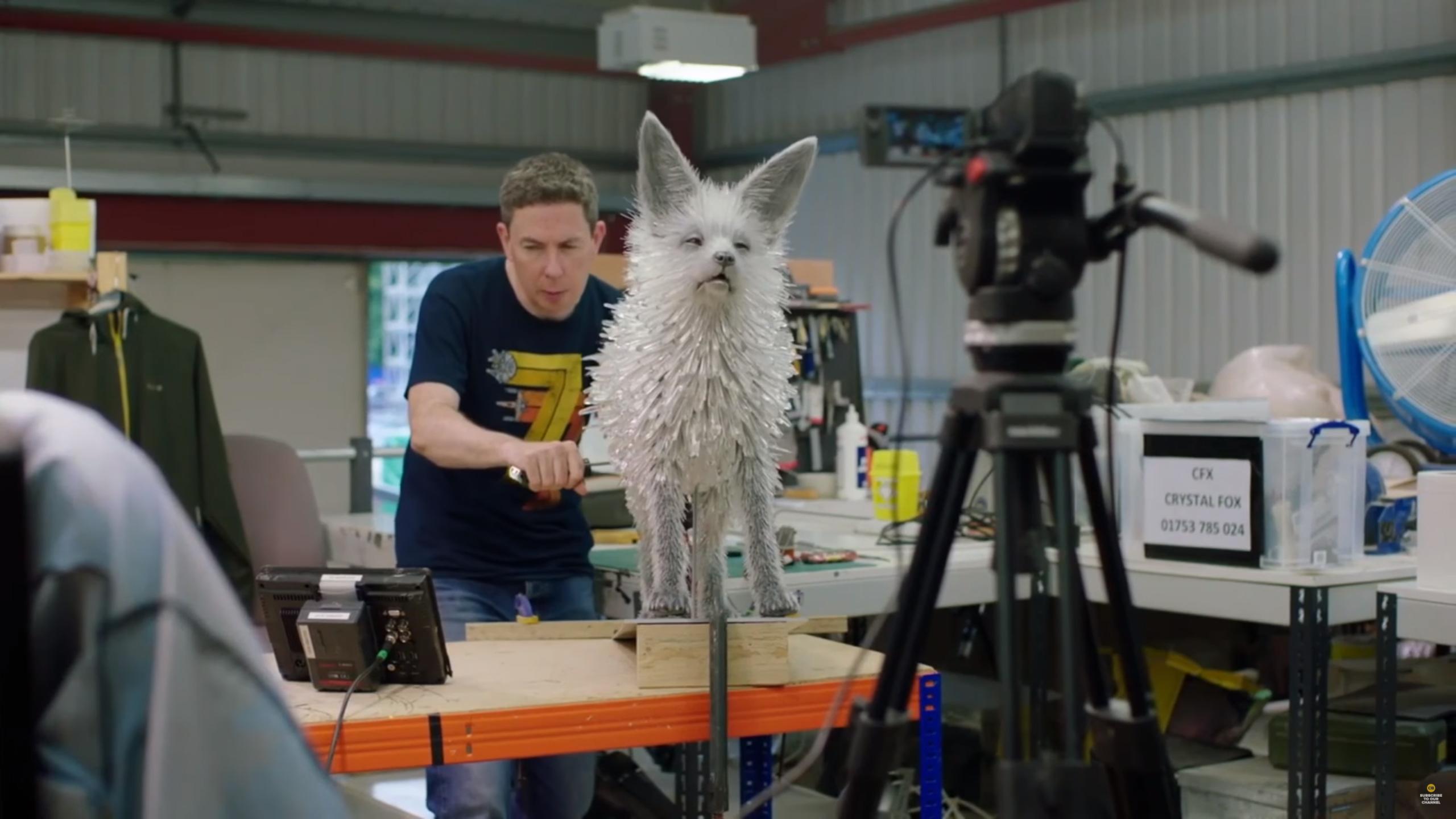 Vulptex The Crystal Fox Geek Carl