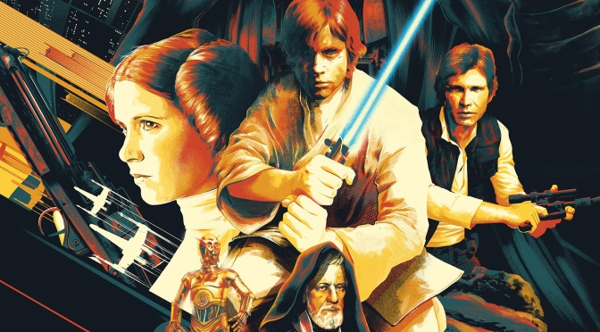 Matt Taylor Star Wars A New Hope Poster Bottleneck Gallery Acme Archives BannerMatt Taylor Star Wars A New Hope Poster Bottleneck Gallery Acme Archives Banner
