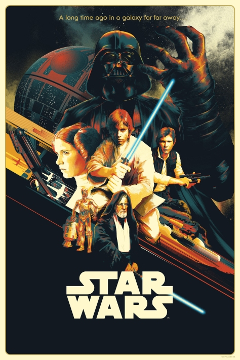 Matt Taylor Star Wars A New Hope Poster Bottleneck Gallery Acme Archives