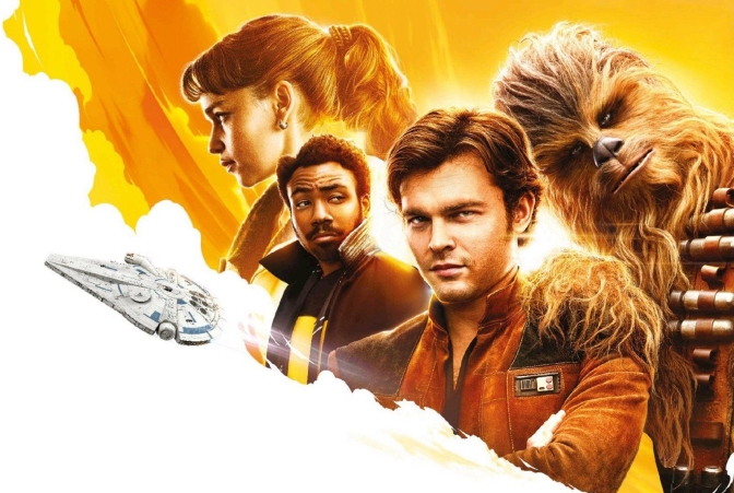 Solo A Star Wars Story Russian Promo Art