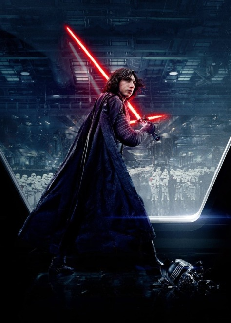 Star Wars The Last Jedi Chinese Character Posters Kylo Ren