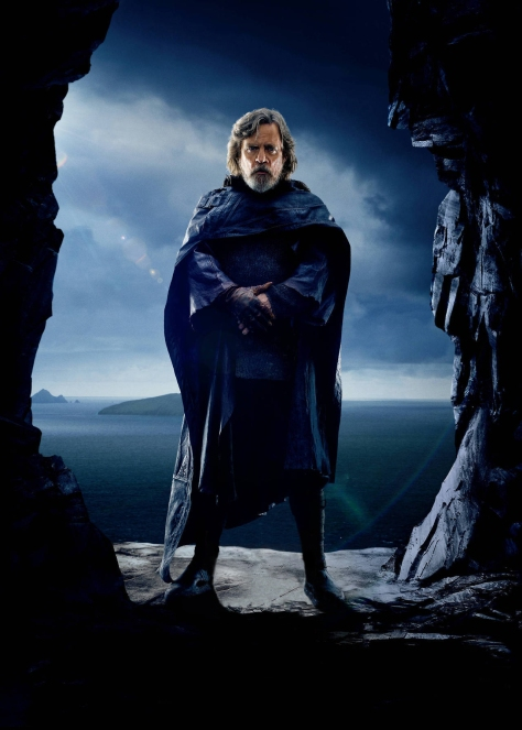 Star Wars The Last Jedi Chinese Character Posters Luke Skywalker