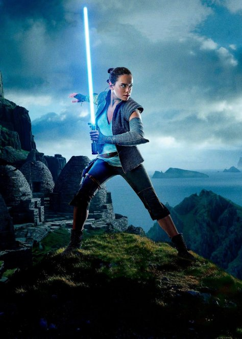 Star Wars The Last Jedi Chinese Character Posters Rey