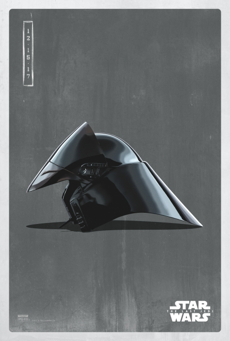 Star Wars The Last Jedi The Dark Side Pop Icon Art Print Posters First Order shuttle pilot helmet