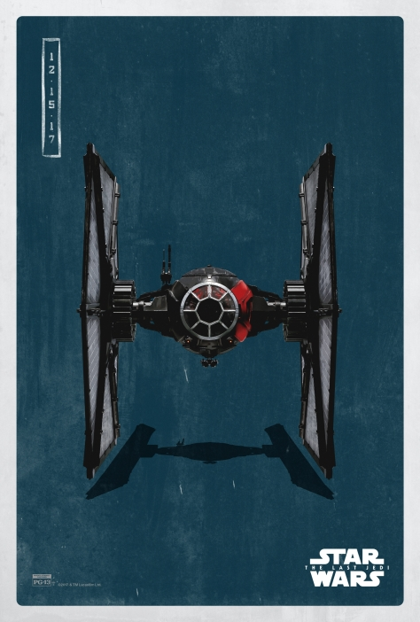 Star Wars The Last Jedi The Dark Side Pop Icon Art Print Posters First Order Tie Fighter