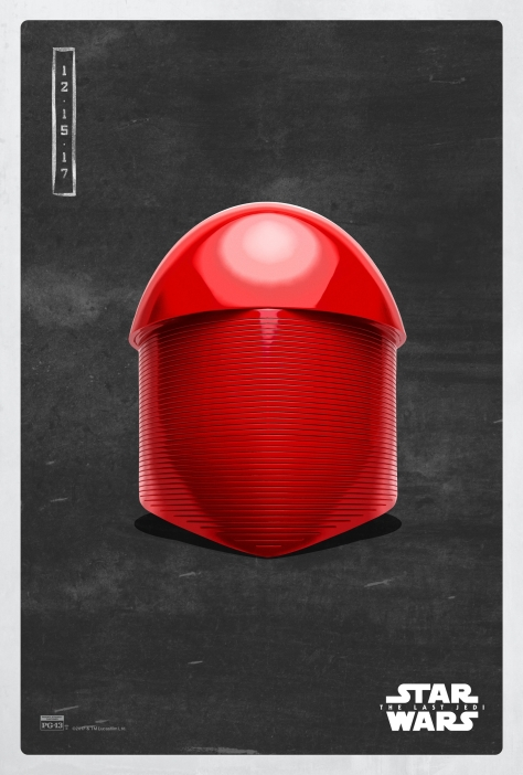 Star Wars The Last Jedi The Dark Side Pop Icon Art Print Posters Praetorian guard helmet