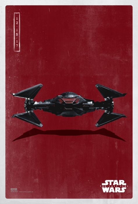 Star Wars The Last Jedi The Dark Side Pop Icon Art Print Posters Tie Silencer
