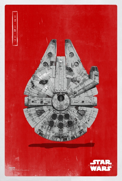 Star Wars The Last Jedi The Light Side Pop Icon Art Print Posters Millennium Falcon