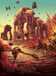 The Last Jedi Dan Mumford IMAX Posters 2 of 4 The Battle of Crait