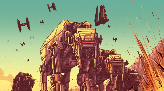 The Last Jedi 'Dan Mumford' IMAX Posters