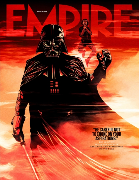 Empire Magazine Greatest Villains Darth Vader March 2018 Subscriber Cover Revealed