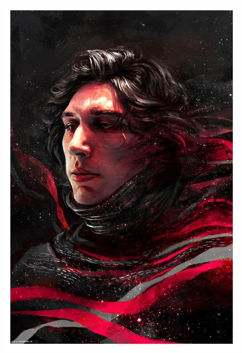 Kylo Star Wars Portrait Series by Alice X Zhang