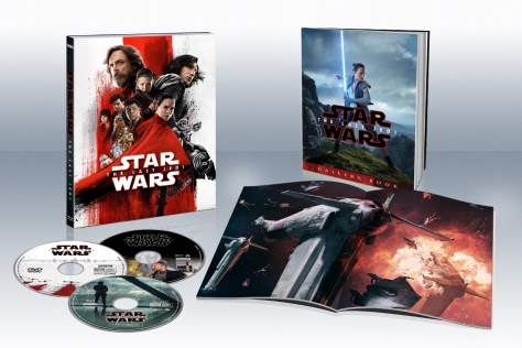 Star Wars The Last Jedi Blu Ray DVD Digital Packaging Cover and Booklet - Target