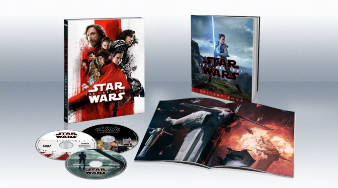 Star Wars: The Last Jedi – Blu-ray Packaging