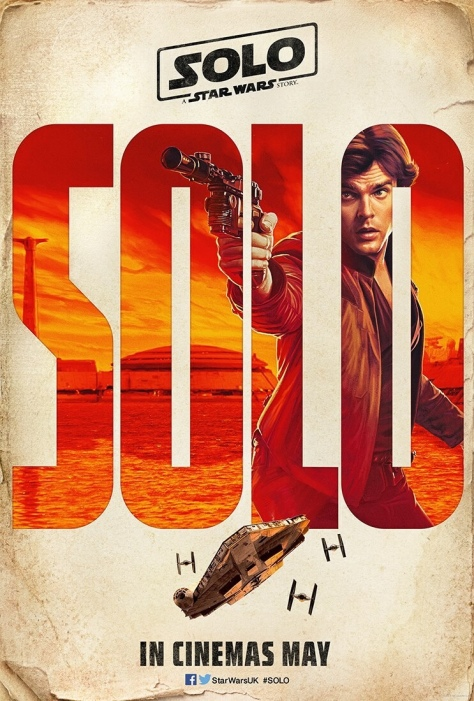 The SOLO : A Star Wars Story Vintage Teaser Posters - Han Solo