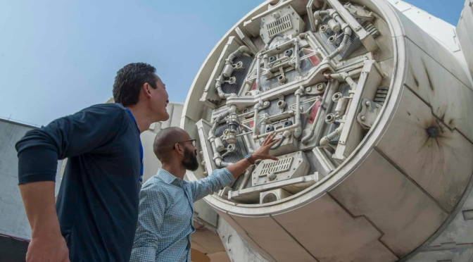 Millennium Falcon Star Wars Galaxy's Edge Doug Chang Lucasfilm Disney