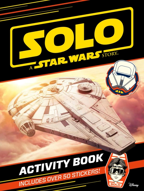 SOLO - A Star Wars Story ACTIVITY BOOK with STICKERS Cover Ultra Hi Resolution