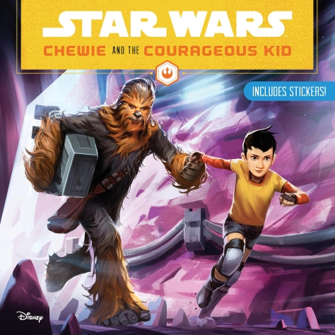 SOLO - A Star Wars Story Chewie and the Courageous Kid Cover Ultra Hi Resolution