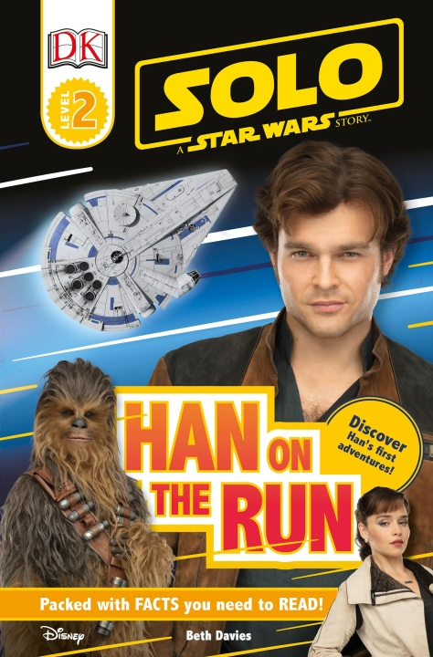 SOLO - A Star Wars Story HAN on the RUN Cover Ultra Hi Resolution
