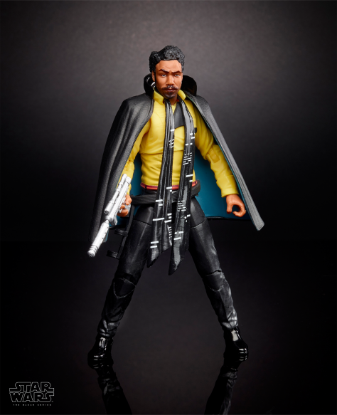 SOLO - A Star Wars Story Hasbro Black Series Action Figures Ultra Hi Resolution - Lando Calrissian