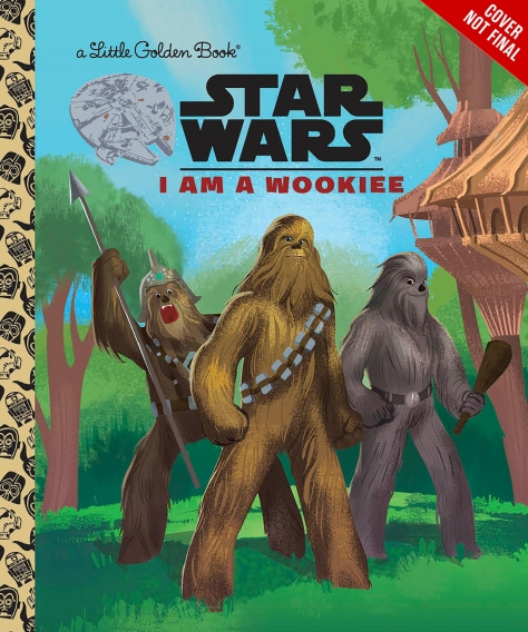 SOLO - A Star Wars Story I AM A WOOKIE Cover Ultra Hi Resolution