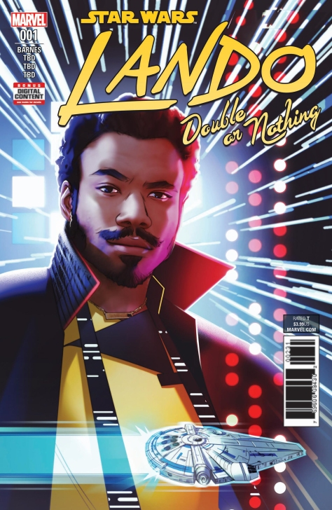 SOLO - A Star Wars Story LANDO Marvel Cover Ultra Hi Resolution