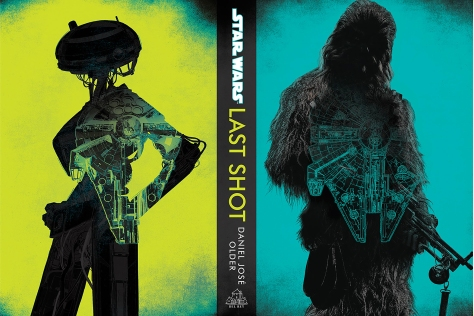 SOLO - A Star Wars Story LAST SHOT Exclusive Cover by Del Rey  Ultra Hi Resolution
