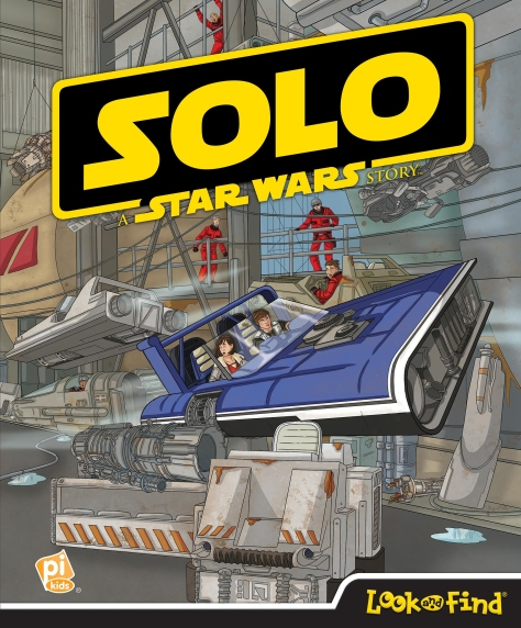 SOLO - A Star Wars Story LOOK and FIND Cover Ultra Hi Resolution
