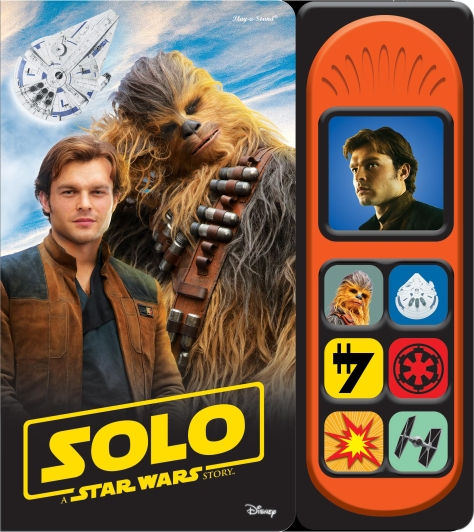 SOLO - A Star Wars Story SOUND BOOK Cover Ultra Hi Resolution