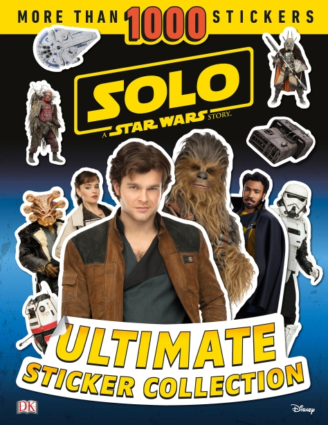 SOLO - A Star Wars Story Ultimate Sticker Collection Cover Ultra Hi Resolution