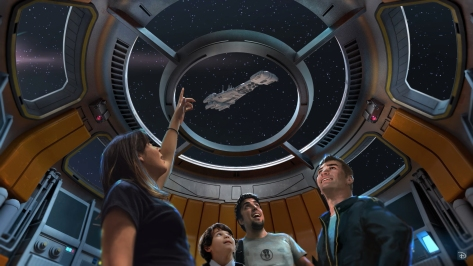Star Wars Hotel at Galaxy's Edge Concept Art Lucasfilm Disney